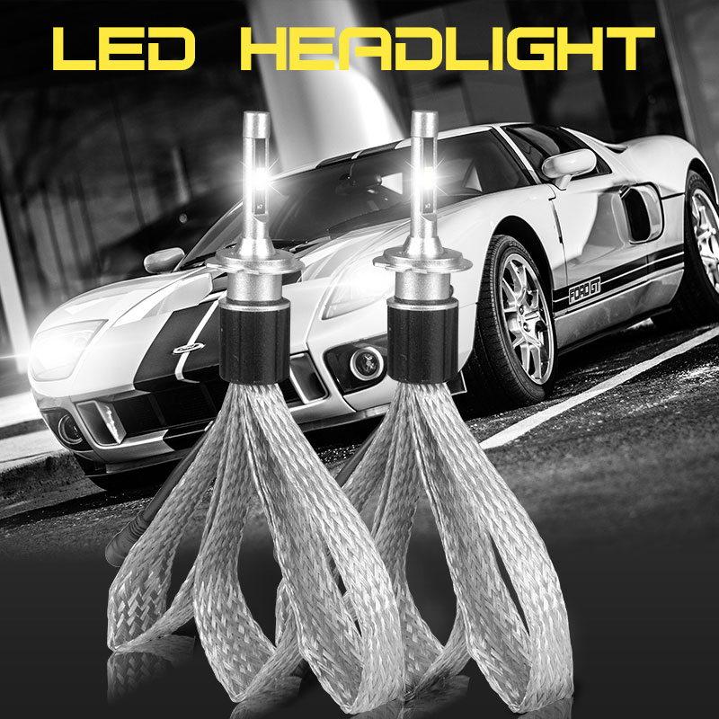 Super Brighter 72W Led headlight bulb (1)