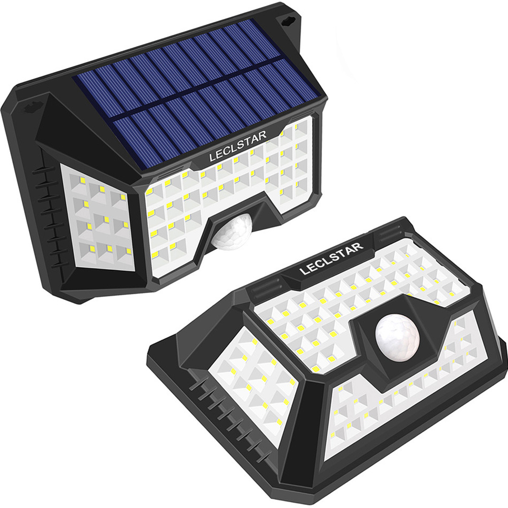 Waterproof 66 LED Solar Powered Lamp Outdoor For Garden Decoration Solar Energy Motion Sensor Light Sunlight Security Wall Light