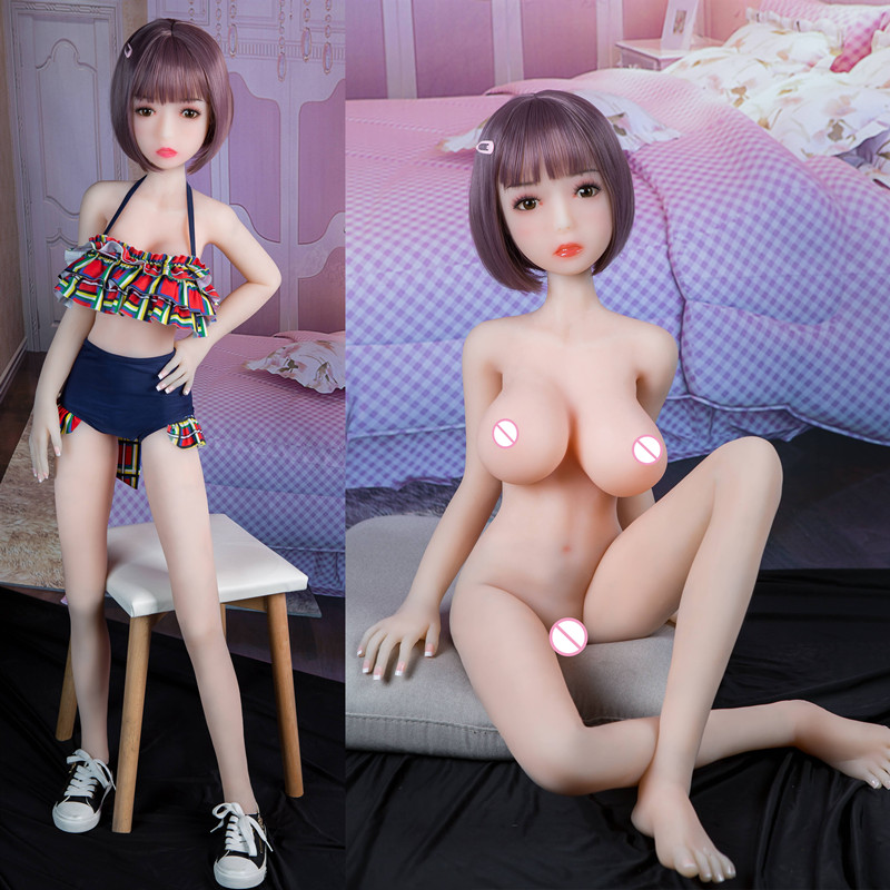 100cm Sex Doll Full Size TPE Sex Silicone Doll Metal Frame Adult Love Doll Vagina Realistic Pussy Realistic Japanese Sex Doll