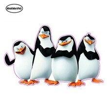 Hotmeini 13cm x 8.2cm madagascar pinguins decalque adesivo jdm estilo do carro adesivo de vinil decalques diy acessório do carro à prova ddiy água