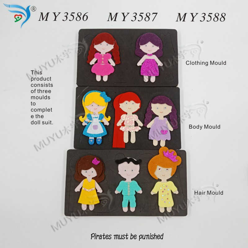 Character Suit /MY3586/ MY3587/ MY3588 muyu cutting die-- new wooden mould cutting dies for scrapbooking Thickness-15.8mm