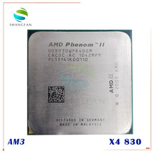 AMD Phenom – II X4 830 2.8GHz/6 mo/4 cœurs, Quad-Core, CPU de bureau, prise AM3