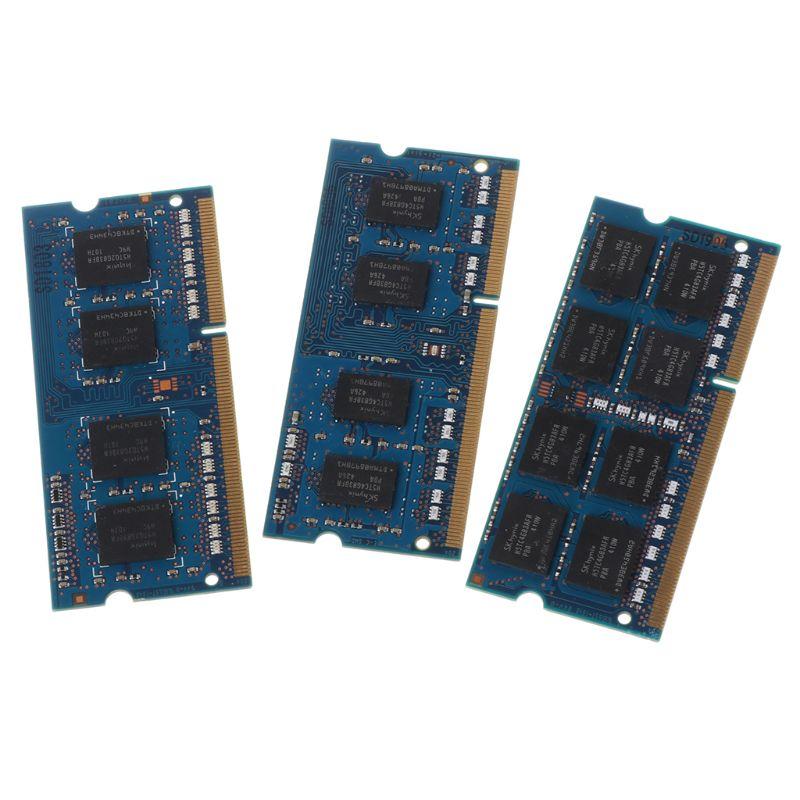 2 GB/4 GB/8 GB DDR3 PC3-10600U PC3-12800S 1333Mhz 1600MHz PC10600 PC12800 DIMM Módulo para chipset Hynix Memória Notebook Laptop RAM