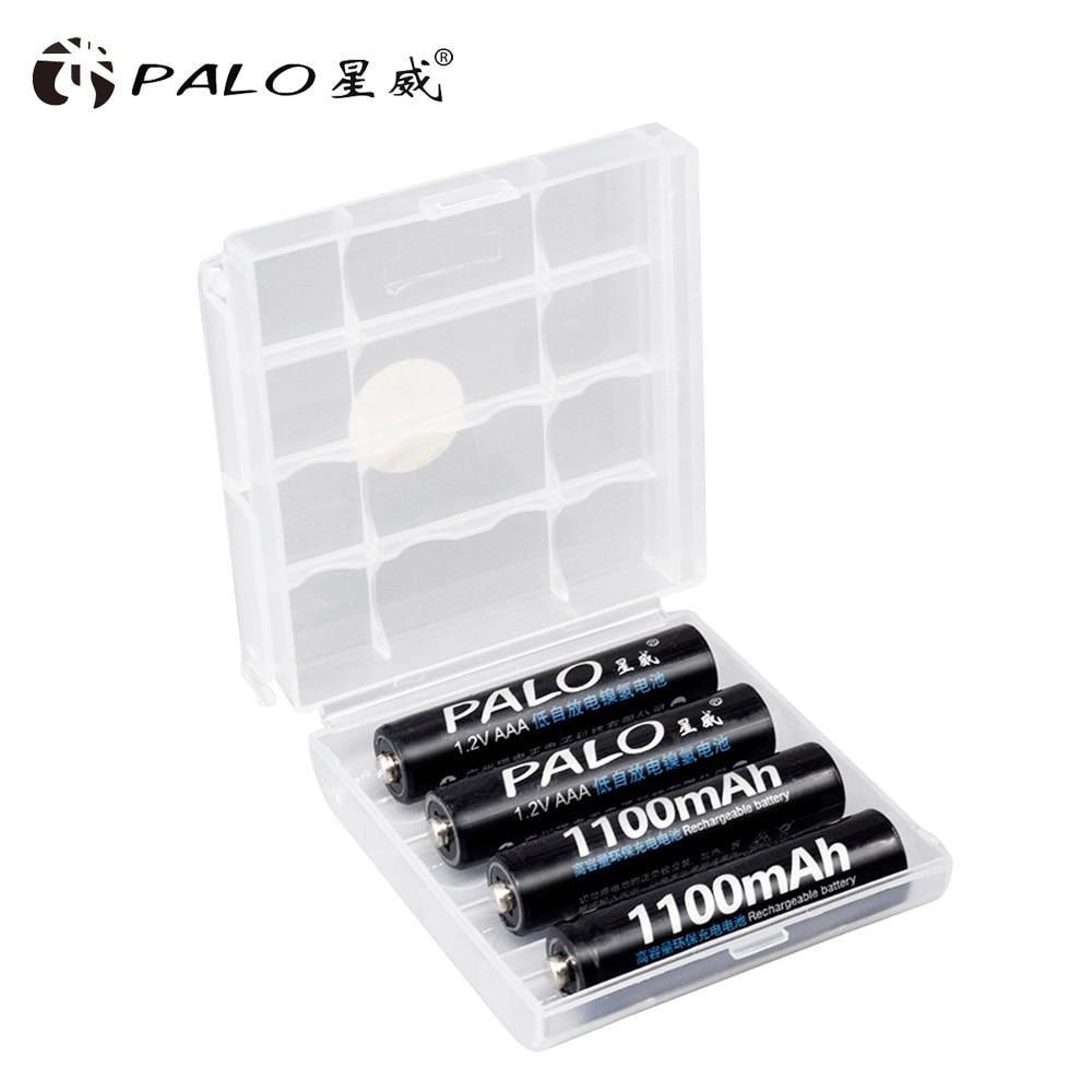Никель металлогидридный аккумулятор palo 1100 мАч 12 в aaa аккумуляторные