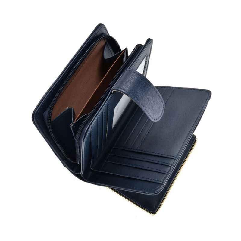 Kobiety Vintage Hollow monety karty klucz portfel etui Mini torebka zmień torbę 35EF