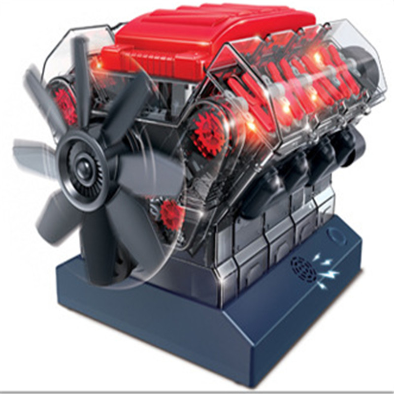 Mini Combustion Engine Model Building Kit Model Science And School Education Physical Experiment Equipment For Student