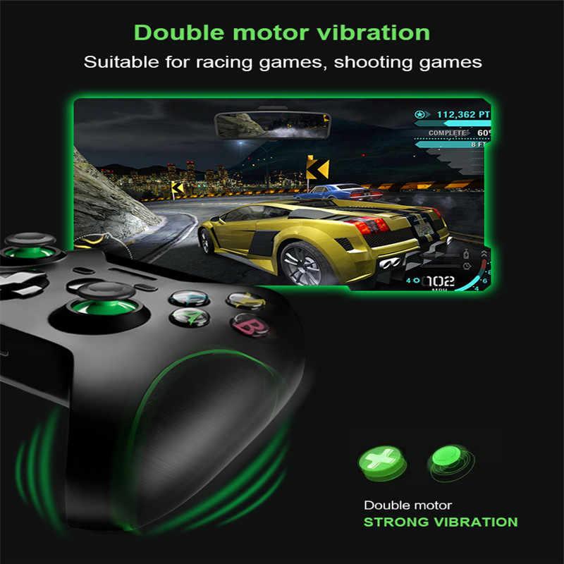 2.4G أداة تحكم في الألعاب لاسلكية عصا التحكم ل Xbox One ، تحكم ل PS3/هاتف أندرويد ذكي ، ل Win PC 7/8/10 غمبد