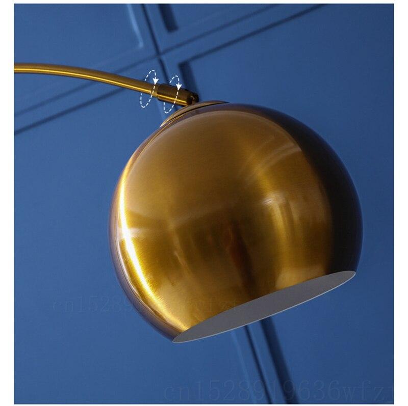 Pesca moderna lâmpada de pé nordic sala