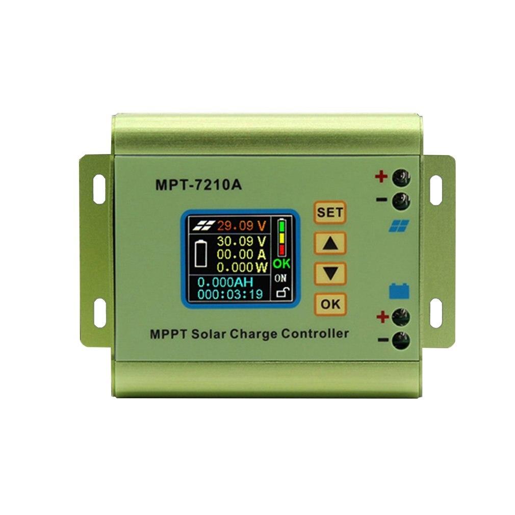 mpt 7210a cor display lcd mppt controlador de 04