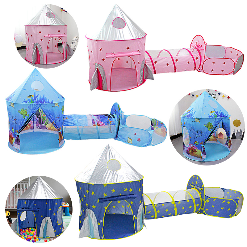 Cute Kids Baby Games Beach Tent Portable Outdoor Sun Shade Child Play House #D20