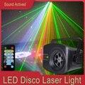 RGB вечерние светильник s, дискотечный светильник с голосовым управлением музыкой, лазерный проектор, светильник s, 108 моделей, RGB эффект, лампа...