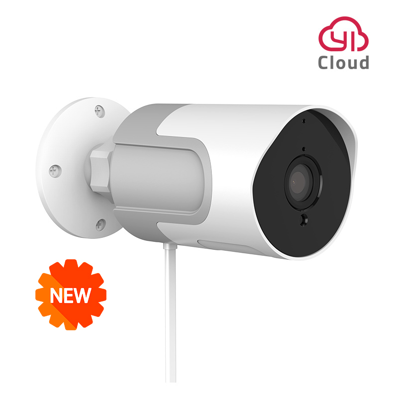 YI loT Outdoor Camera 1080p IP Camera Wireless Weatherproof Night Vision Security Surveillance Camera YI Cloud Available-in Surveillance Cameras from Security & Protection