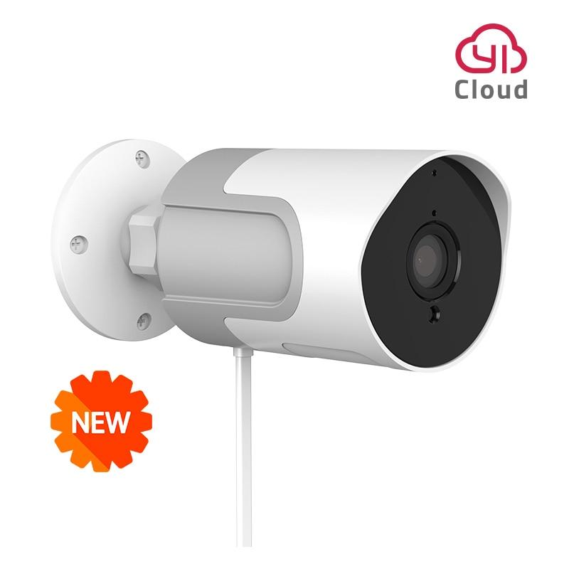 YI LoT Outdoor Camera 1080p IP Camera Wireless Weatherproof Night Vision Security Surveillance Camera YI Cloud Available