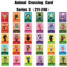 Amiibo Card Animal Crossing Work For Ns Games Series 3 (211 to 240)