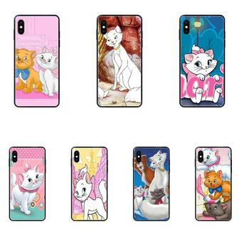 For Samsung Galaxy S20 S10e S10 S9 S8 S7 S6 S5 edge Lite Plus Ultra Soft Print Case The Cartoon Aristocats image