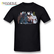 Dead By Daylight T Shirt Killers T-Shirt Short Sleeve Printed Tee Man Cotton Awesome Streetwear Tshirt