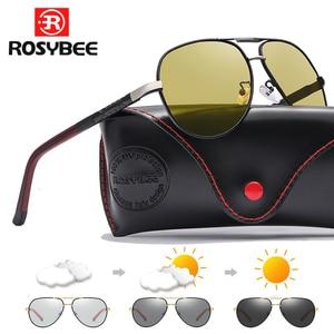 BIG size Photochromic Sunglasses Polariz