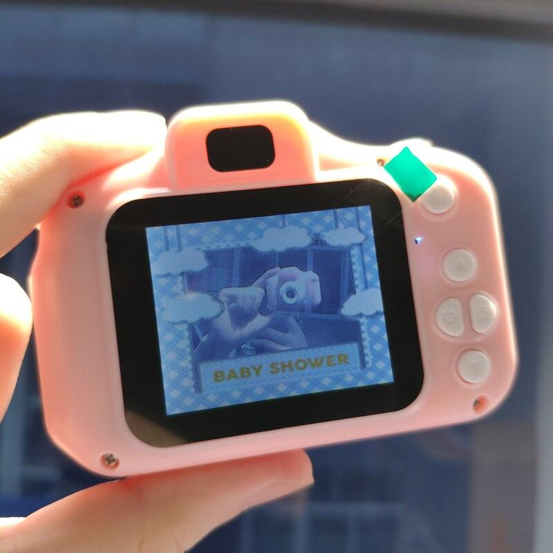 Детская мини-камера, детские развивающие игрушки для детей, подарок на день рождения, цифровая камера 1080 P, проекционная видеокамера