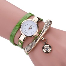 цена на Fashion Rhinestone Watch Women Luxury Brand Stainless Steel Bracelet Watches Ladies Quartz Dress  Wristwatch Clock Reloj Mujer