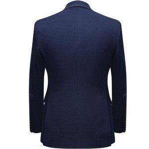 Image 4 - Men Suits 2 Piece Sets Designers Single buckle Groom Wedding Dress Slim Fit Formal Offices Classic Prom Suit Jacket Trousers
