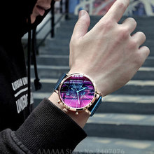 Colorful Luster Wrist Watch Men Watches Top