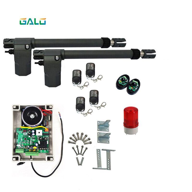 Heavy Duty GALO Automatic Swing Door Opener With A Maximum Door Weight Of 400KGS, Ideal For Garage Door Iron Doors