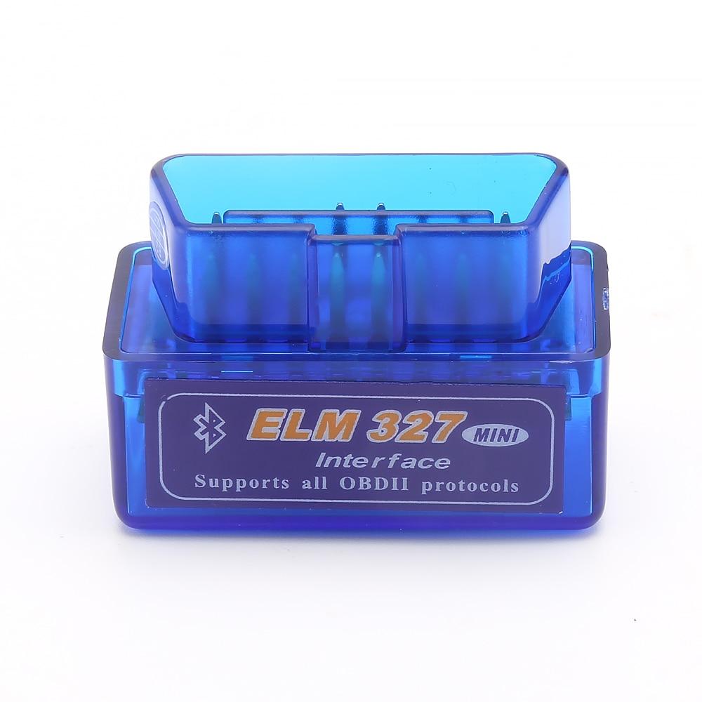 Mini Car Diagnostic Elm327 Bluetooth OBD2 V1.5 Elm 327 V 1.5 Car Diagnostic-Tool Scanner Elm-327 OBDII Adapter Diagnostic Tool