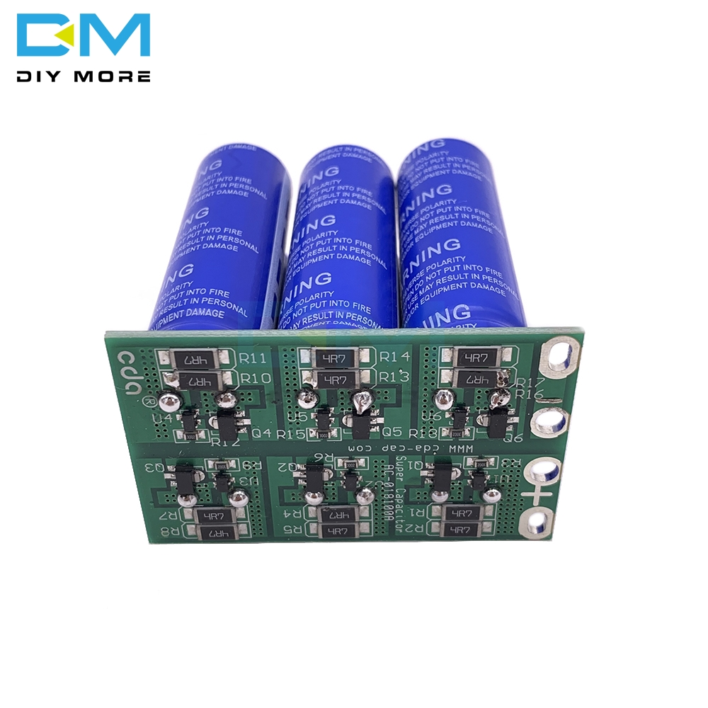 120F super capacitor protection boards are plate 6 string 2.7V100F