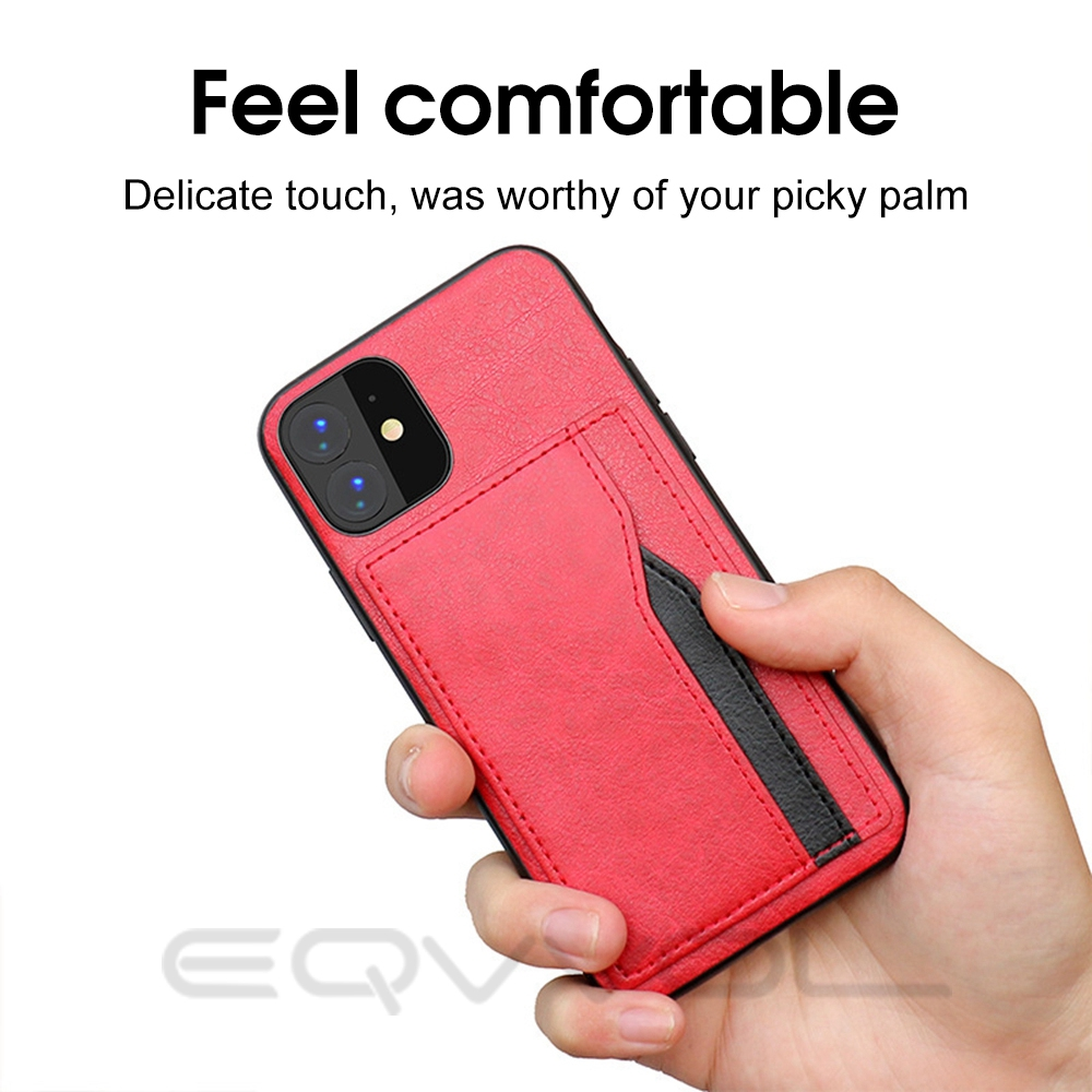 H9fc61a37510841c4a367c2e2053e04f0q Eqvvol Retro PU Leather Case For iPhone 11 Pro MAX 2019 Multi Card Wallet Case For iPhone X XS MAX XR 11 Shockproof Cover Coque