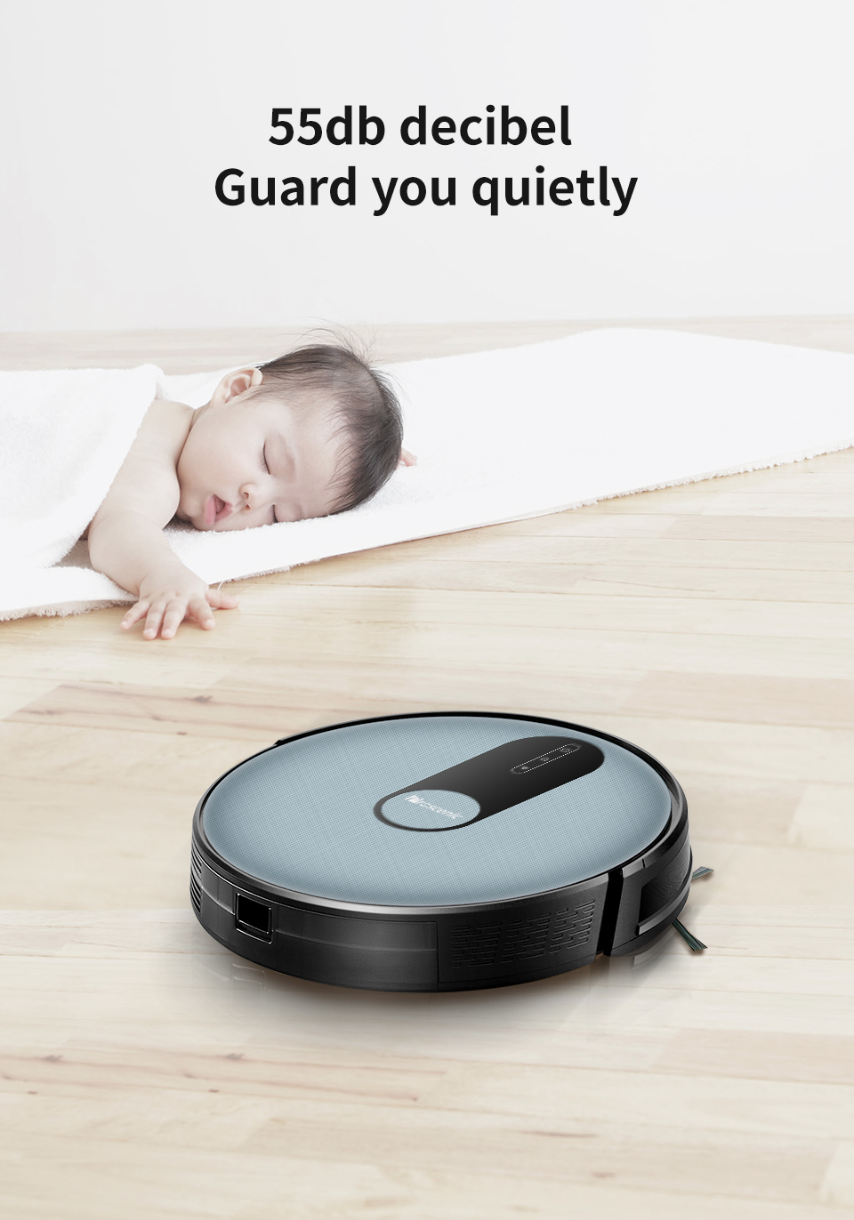 H9fc63ad938a247bebafac3539bad80c0h Proscenic 820P Robot Vacuum Cleaner Smart Planned 1800Pa Suction with wet cleaning for Home Carpet Cleaner Washing Smart Robot