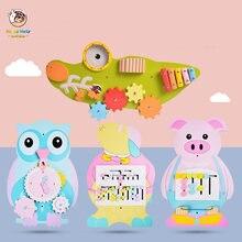 Детская деревянная настенная игра игрушки для детского сада