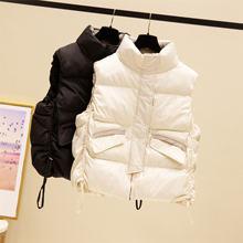 Осенне зимняя хлопковая верхняя одежда; Короткий жилет; Пальто