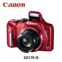 CANON-cámara Digital compacta usada, PowerShot SX170 IS 8GB, tarjeta de memoria completamente probada