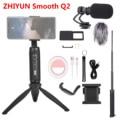 Zhiyun Smooth Q2 3-осевой Ручной Стабилизатор для смартфона для iPhone 11 Pro Max XS XR X 8P 8 Samsung S9 S8 и Gopro SJCAM