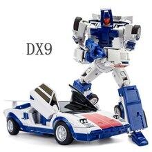 DX9 oyuncaklar D13 Montana Atilla birleştirici Menasor Stunticons arıza dönüşüm aksiyon figürü