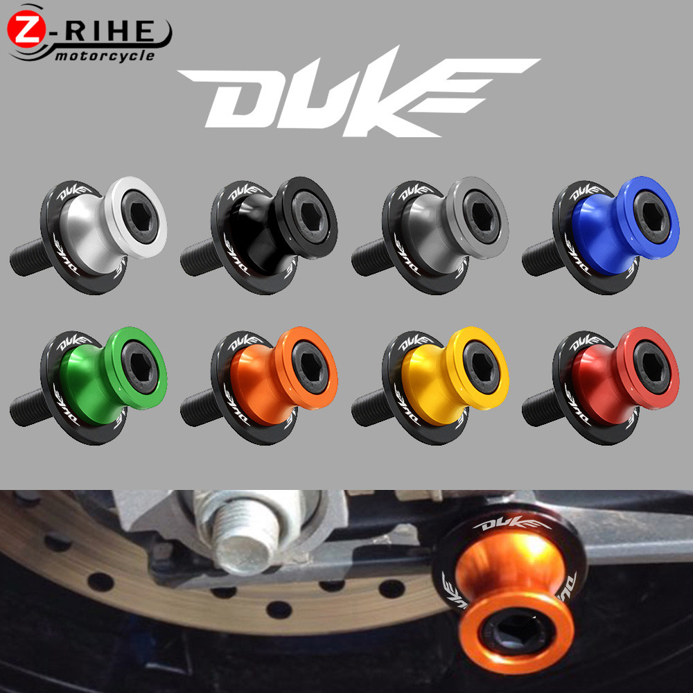 For KTM DUKE 125 200 250 390 790 690 890 2018 2019 2020 2017 2021 10mm Motorcycle Accessories CNC Swingarm Sliders Spools Screw image
