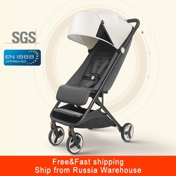 Mitu cochecito de bebé avión ligero portátil cochecito para niños cochecito plegable adecuado 4 estaciones para chico