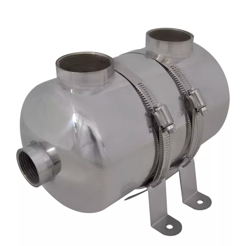 Trocador de calor resistente à corrosão e durável da associação do material de aço inoxidável do permutador de calor 292x134mm 28 kw v3 da associação