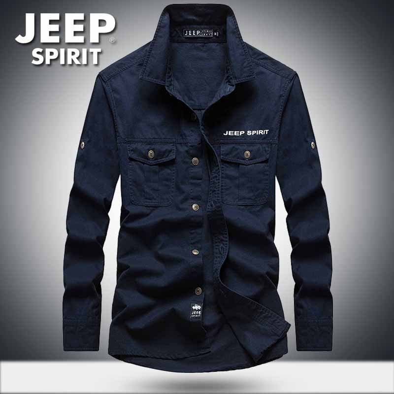 AFS ZDJP EEP Shirt Men Plus Size M-5XL Casual Shirts Camisa Brand Shirts Men Plaid Military Shirt Men Loose
