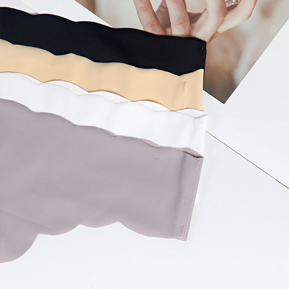 Lady Seamless Breathable Thongs Underpants Underwear Solid Color Comfortable Low Waist Panty Lingerie Sexy Briefs Knickers