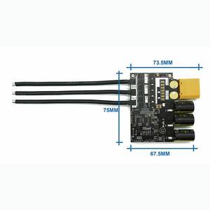 Image 5 - Flpskyブラシレスモーターウォーターポンプクールesc電気サーフボード電子速度コントローラベースにvesc 6 60a 60v 12s
