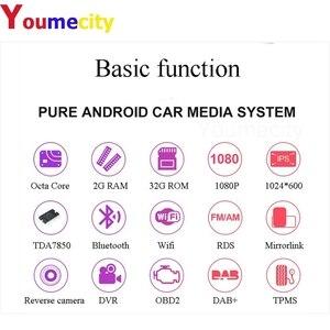 Image 2 - Восьмиядерный автомобильный DVD мультимедийный плеер Android 9,0 Gps для Nissan Juke Qashqai Almera x trail Note X TRAIL 2Din универсальный