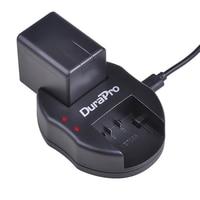 1pc 3900mAh VW-VBT380 VW VBT380 VBT190 Batteria + Caricabatterie USB per Panasonic HC-VXF999  HC-VXF990  HC-VX870  HC-VX989  HC-WXF1G  VXF1GK
