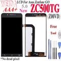 WEIDA для Asus Zenfone GO ZC500TG Z00VD ЖК-дисплей сенсорный дигитайзер сборка Замена + инструмент Z00VD ZC500TG LCD