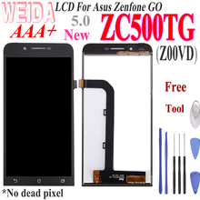 WEIDA For Asus Zenfone zenfone GO ZC500TG Z00VD LCD Screen Display Touch Digitizer Assembly Replacement+ Tool Z00VD ZC500TG LCD все цены