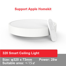 Yeelight YLXD01YL חכם סלון אורות led LED תקרת מנורת אבק התנגדות אלחוטי led אור עמעום עבודה עבור Google בית