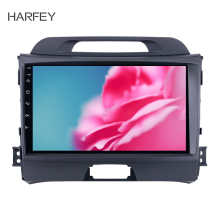 Harfey Car GPS Multimedia Player 2DIN Android 8.1 9 inch Head Unit For 2010 2011 2012 2013 2014 2015 KIA Sportage Radio Audio