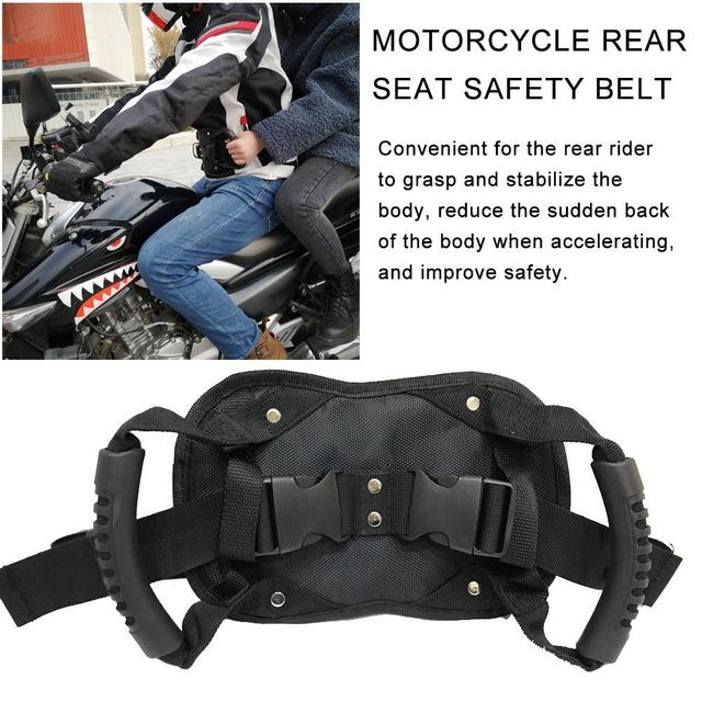 Motorcycle Passenger Handle Grip  6