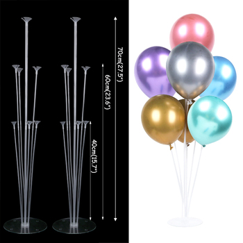 LED Light Air Balls Balloon Stand Column Wedding Table Decoration Balloons Holder Christmas Baloon Baby Shower Birthday Party 18