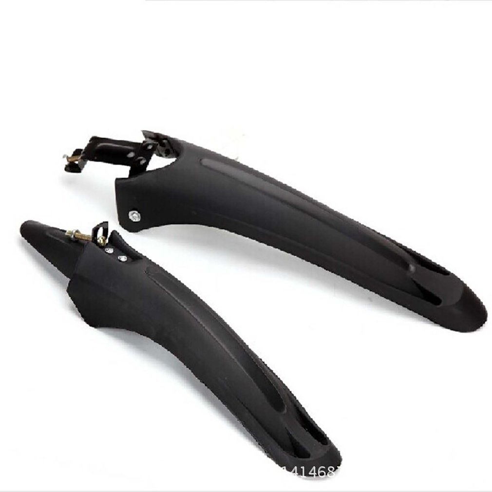 1 Set 35mm Tube Bicycle Riding Mudguard Plastic MTB Mountain Bike Tail Head Fender Mud Protect Guards Wings Front Rear Fenders